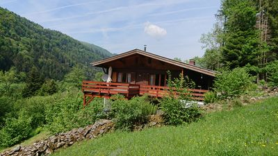 Photo for Large and beautiful wild cottage with sauna Alsace