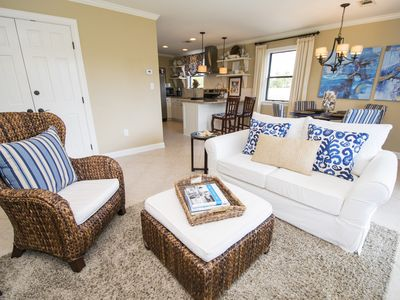 Photo for 9H,NOON CHECK-IN,4 MIN. WALK to BEACH,BEST CONDO BEST VALUE,POTTERY BARN DECOR