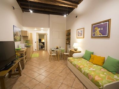 Photo for Coliseum Rome 1 apartment in Termini Stazione with WiFi, air conditioning & balcony.