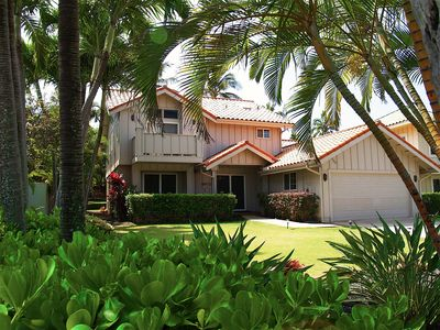 Photo for Luxury Poipu Kai Home ...Total A/C.....Walk to Hyatt..Poipu Athletic Club Access