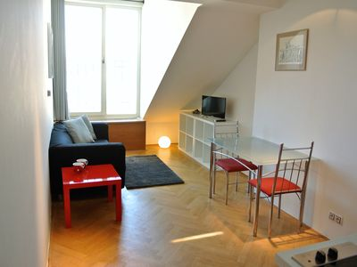 Photo for Charming and uniquely spaced Duplex apartment - easy walking to all main places