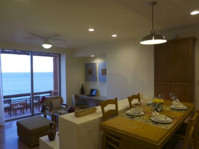 Club Regina Los Cabos Grand Suite Living and Dining Room