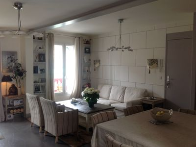 Photo for Triplex with superb south west facing terrace in the center of La Baule