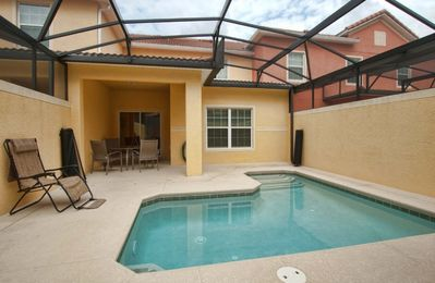 Photo for RESORT COMMUNITY, FREE WIFI, PRIVATE POOL, DISNEY THEME PARKS CLOSE BY