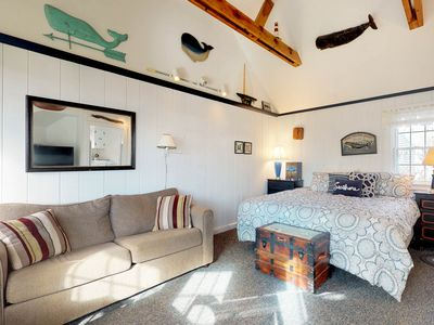 Photo for NEW LISTING! Ocean view cottage w/ shared BBQs and steps from private beach!