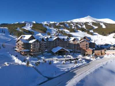 Photo for Ski-in Condo + Balcony | Access Hot Tubs, Pools, Spa & Theater Room!