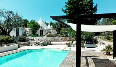 Photo for Trulli Talily - Stunning Trullo Retreat  with Large Pool (sleeps 2-5)