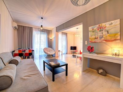 Photo for Beautiful Apartment in Glyfada Center