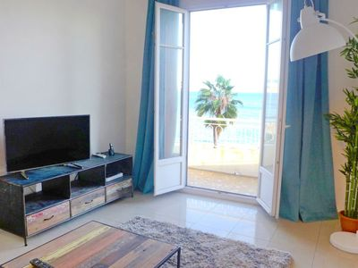 Photo for Apartment Les Yuccas Promenade des Anglais in Nice - 5 persons, 2 bedrooms