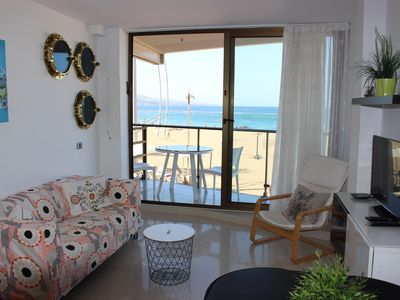 Photo for First Apartment Line of the Promenade and Las Canteras Beach, with Balcony and Wifi.