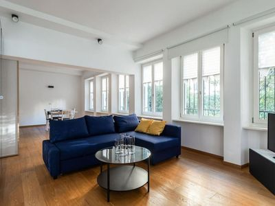 Photo for Modern apartment a few metres from Lugano Lakefront