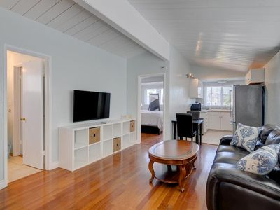 Photo for OB Pier #3 - Dog-friendly beachfront home surrounded by restaurants and attracti