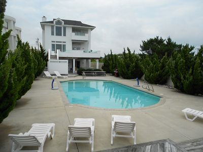 Photo for ATLANTIC PARADISE  * POOL & OCEANFRONT * ON CROATAN BEACH * HOT TUB * PRIVACY