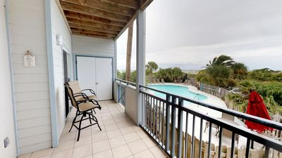 Photo for Bay View Villas - Unit 102 - Water Front - Swimming Pool - Tennis