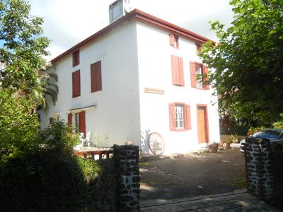 Photo for Apartment in renovated farmhouse of the Basque country, spacious accommodation.