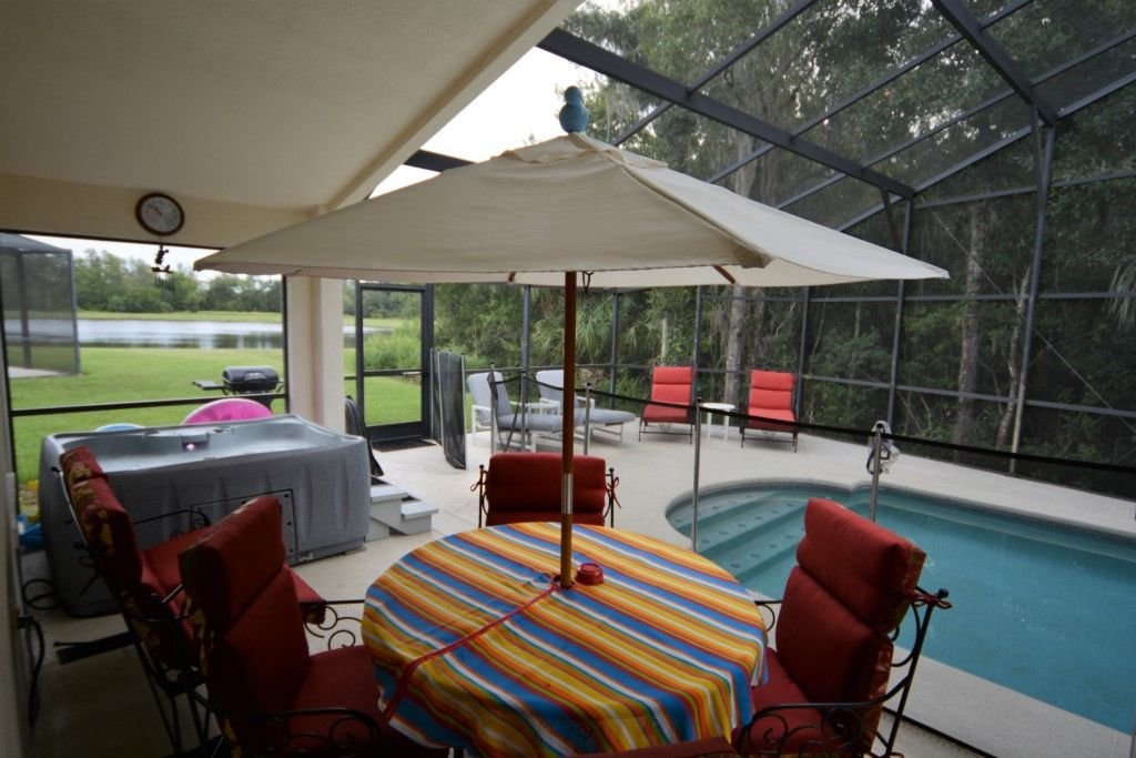 4 bedroom gated orlando vacation rental pool home with lake view games room intercession 4 bedroom vacation rentals orlando florida