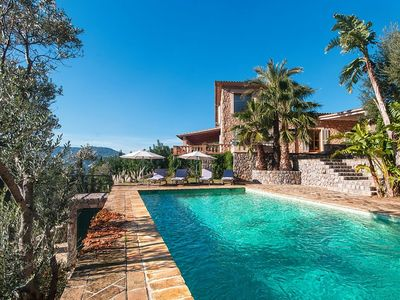 Photo for Mansion in the Tramontana Mountains with lovely views over the valley and Sóller