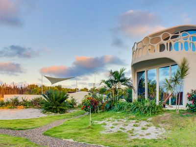 Photo for Two private waterfront retreats w/ pool access, close to gorgeous beach