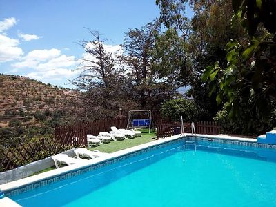Photo for Country house Cortijo Buena Vista for 16/19 people in Granada - Andalusia