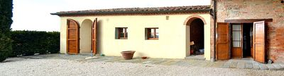 Photo for One bedroom Villa, sleeps 4 in Fattoria with Pool, Air Con and WiFi