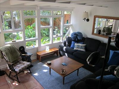 Lots of natural light, great place to relax, read a book, watch tv or take a nap