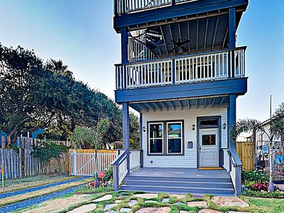 Photo for New Listing! Gorgeous 1900s Remodel w/ Gulf- View Balconies & Chef's Kitchen
