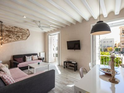 Photo for Rustic Apartment in Very Central Location with Balcony, Great Views & Wi-Fi; Paid Parking Available