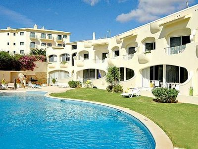 Photo for One bedroom Villa, sleeps 4 with Pool, Air Con and Walk to Beach & Shops