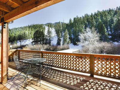 Photo for New Mexico, NM: 2 BR w/Fireplace & WiFi, Ski-In/Ski-Out Resort, Near Red River