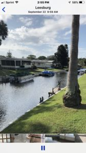 Photo for HOUSE ON WATER/TURN KEY/BEAUTIFUL & QUIET 55+ RESORT COMMUNITY AGE REQUIREMENT