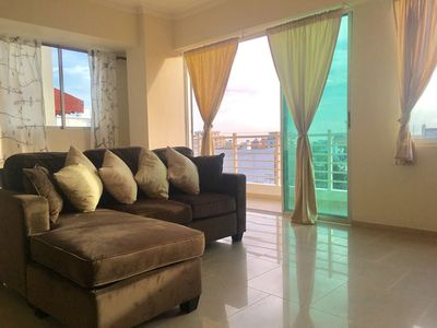 Photo for Spacious apartment in the heart of Santo Domingo