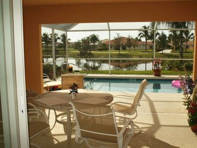Photo for Lux Villa, Brand New Carpet & Paint, Sunsets w/ private & Heated pool!