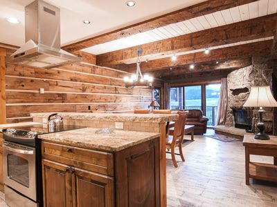 Extensively Remodeled Ski-In/Out Condo w/ Views, Fireplace, Balcony
