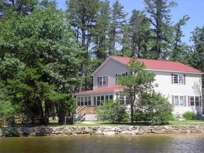 Photo for Lake Ossipee 5BR Private Beach 400ft Waterfront Best Location!