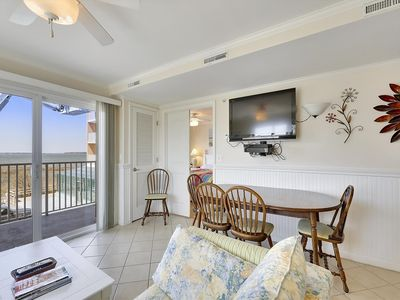 Photo for Indoor Pool & Beautiful Bay Views - Walk to Seacrets & Convention Center!