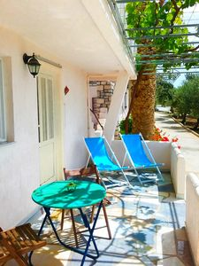 """Photo for The Blue Moon Apartment """"Tartaruga"""", sea view, 500 meters from the beach"""