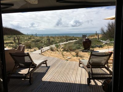 Photo for House full south ocean view in La Cotinière. Oleron. Direct access to the beach.