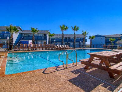 Photo for Gulf Views from this Sea Isle Village condo!