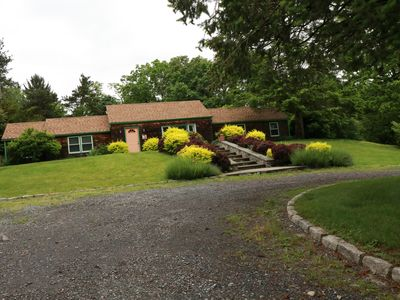 Photo for Beautiful, Secluded, Country Cottage, With 30x60 In-Ground Pool.