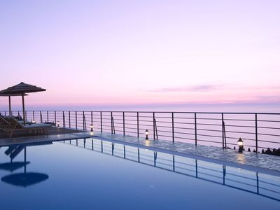 Photo for 5% OFF: Luxury Villa Erato, with amazing views of the Ionian sea