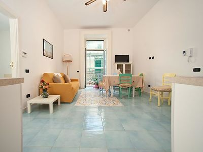 Photo for Apartment Palazzo Della Monica  in Vietri sul Mare, Amalfi Coast - 3 persons, 1 bedroom