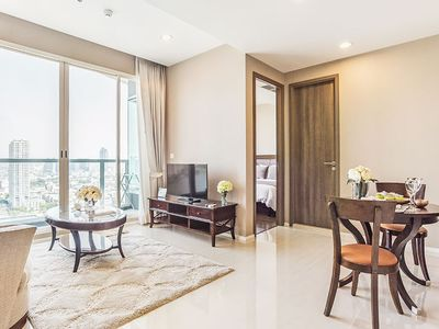 Photo for Amazing River View[1BR]Saphan Taksin BTS