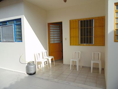 Photo for Sunny Chalets Prainha 1 block from the beach WI FI -board 12 x