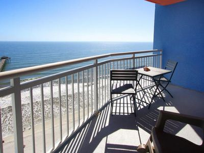 Photo for Prince Resort 1703, Spacious 2 BR Ocean Front Condo with Outdoor Pool, Hot Tub, Lazy River and Kiddie Pool