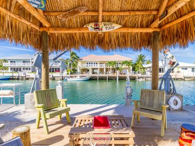 Photo for Beachy, updated 2 bedroom in KCB with Tiki