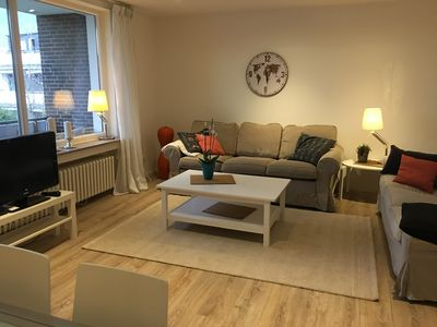 Photo for Super nice apartment for up to four people ideal for trade fair, holidays and long-term