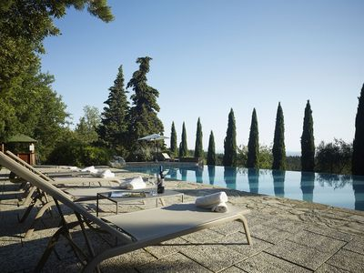 Photo for Villa Chiantigiana is a luxury villa with private swimming pool, air conditioning, 7 bedrooms, 9 bat