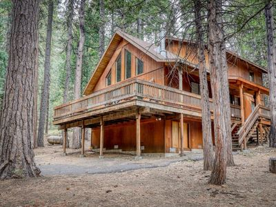 Photo for NEW LISTING! -Share our forest views in this 3 bdrm chalet!