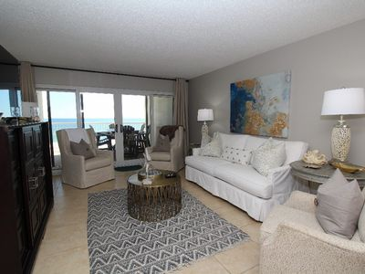 Photo for Sandy Key 335-Beach Front Views from Terrace with Luxurious Interior!
