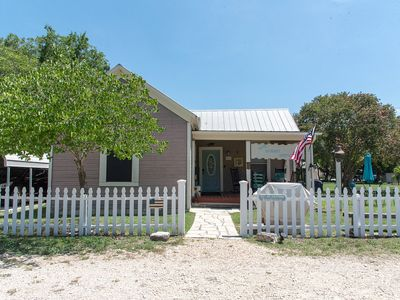 Photo for Downtown Bandera!  Beautifully renovated 1881 home steps from MAIN & 11th ST